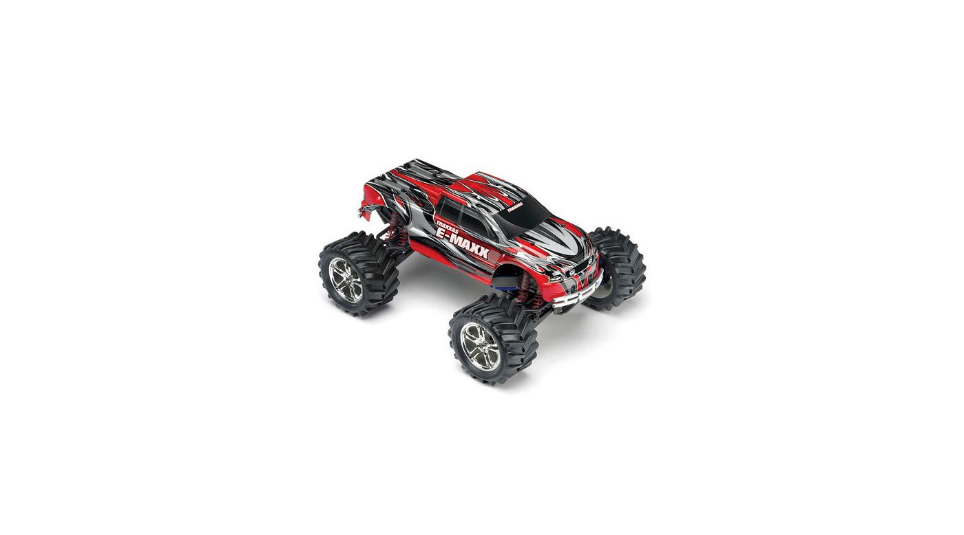 Image for 1/10 E-Maxx 4WD Monster Truck RTR without Module, Red from HorizonHobby