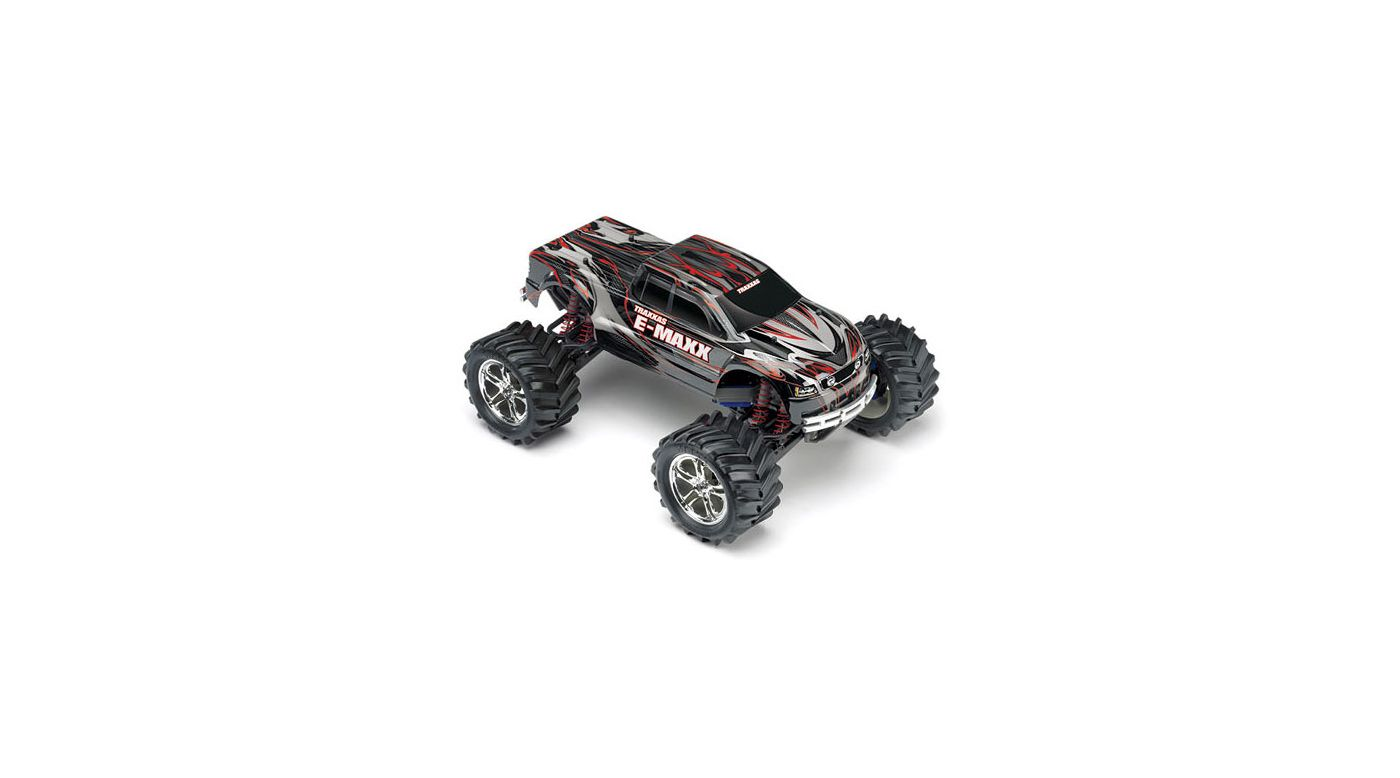 Image for 1/10 E-Maxx 4WD Monster Truck RTR without Module, Black/Red from HorizonHobby