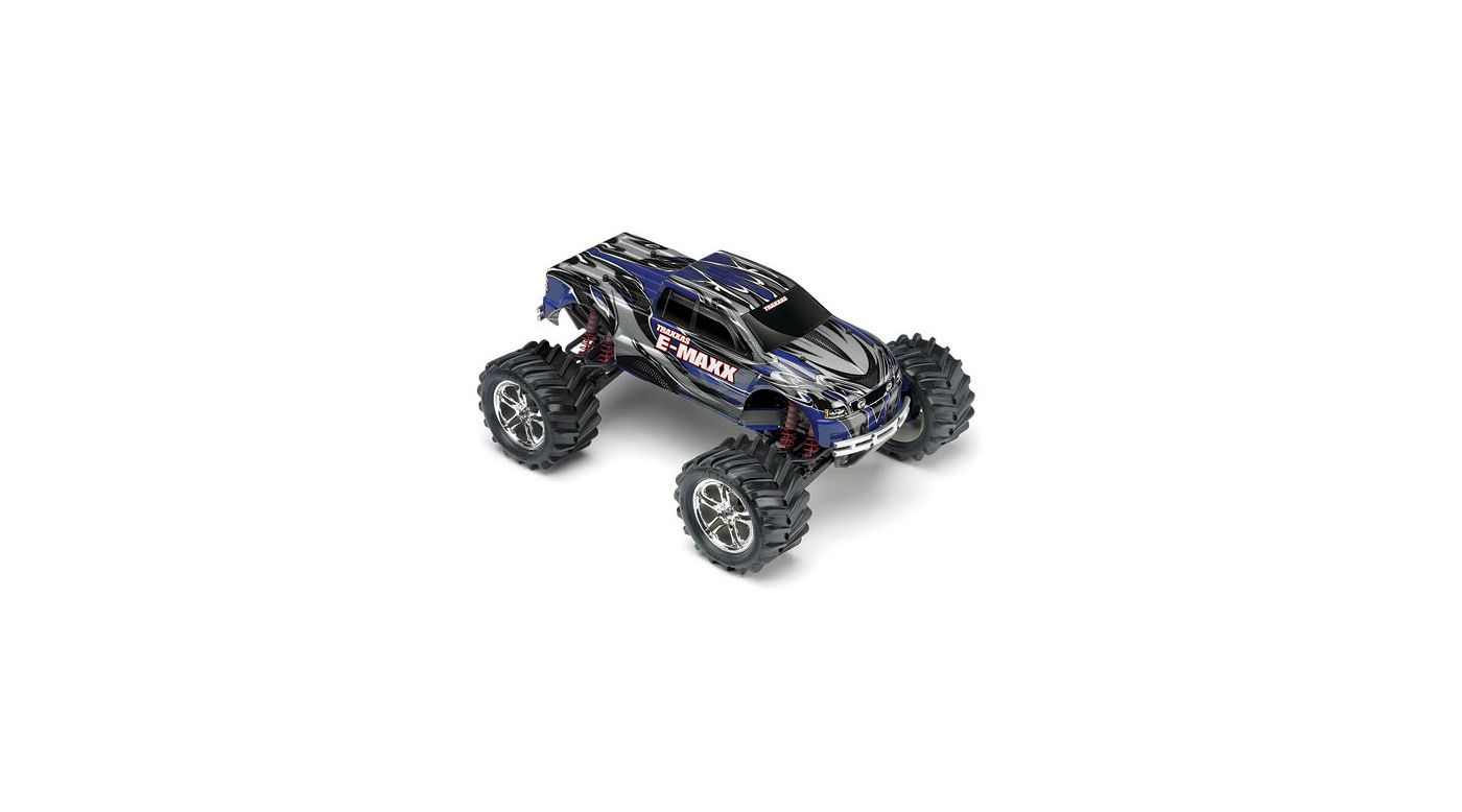 Image for 1/10 E-Maxx 4WD Monster Truck RTR without Module, Blue from HorizonHobby