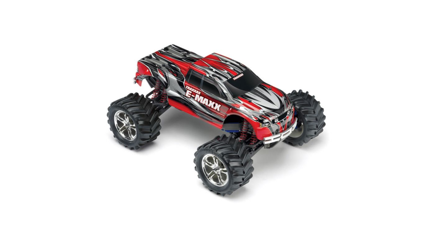 Image for 1/10 E-Maxx 4WD RTR Truck without Module: Red from HorizonHobby