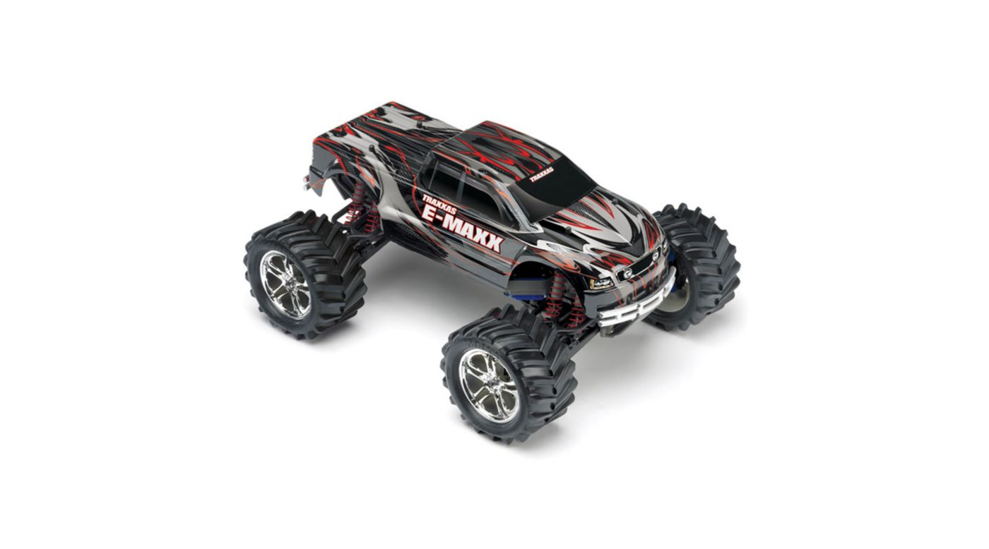 Image for 1/10 E-Maxx 4WD RTR Truck without Module: Black from HorizonHobby