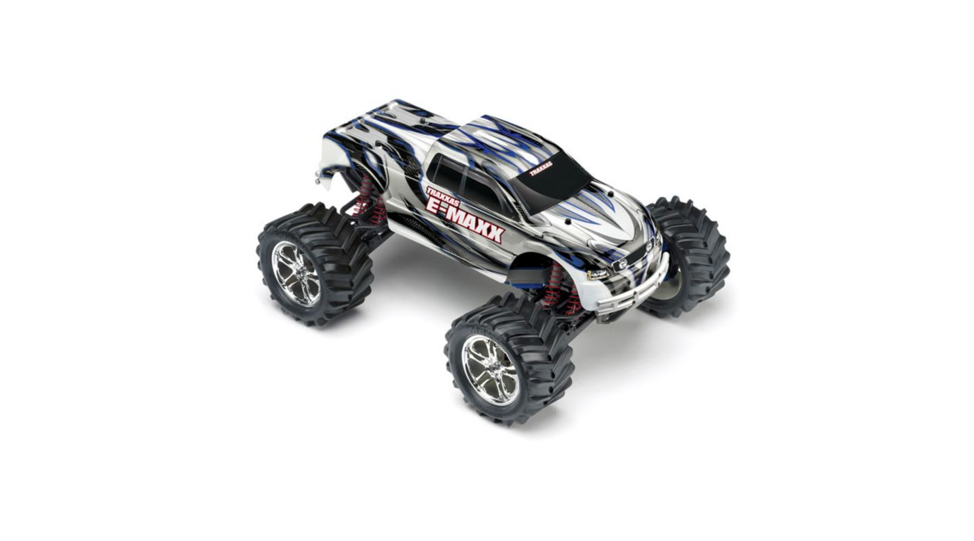 Image for 1/10 E-Maxx 4WD RTR Truck without Module: Silver from HorizonHobby