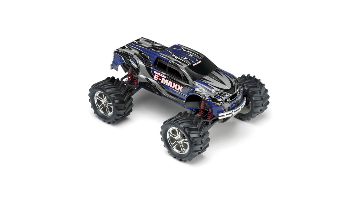 Image for 1/10 E-Maxx 4WD RTR Truck without Module: Blue from HorizonHobby