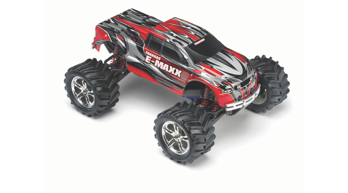 Image for 1/10 E-Maxx 4WD RTR Truck with 2.4GHz TQi Radio, Red from HorizonHobby