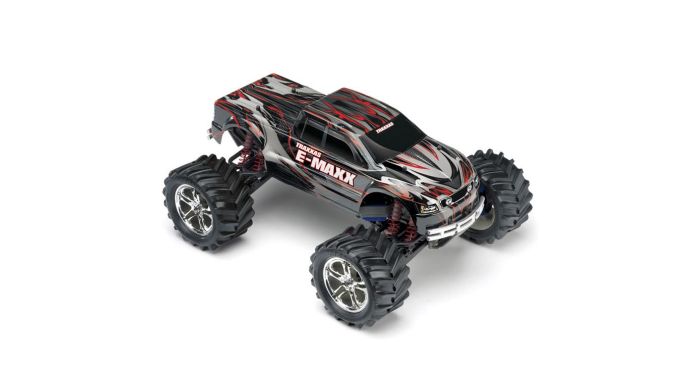 Image for 1/10 E-Maxx 4WD RTR Truck with 2.4GHz TQi Radio, Black from HorizonHobby