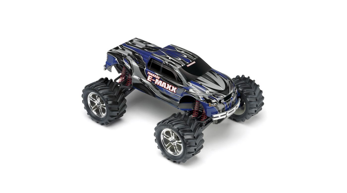 Image for 1/10 E-Maxx 4WD RTR Truck with 2.4GHz TQi Radio, Blue from HorizonHobby