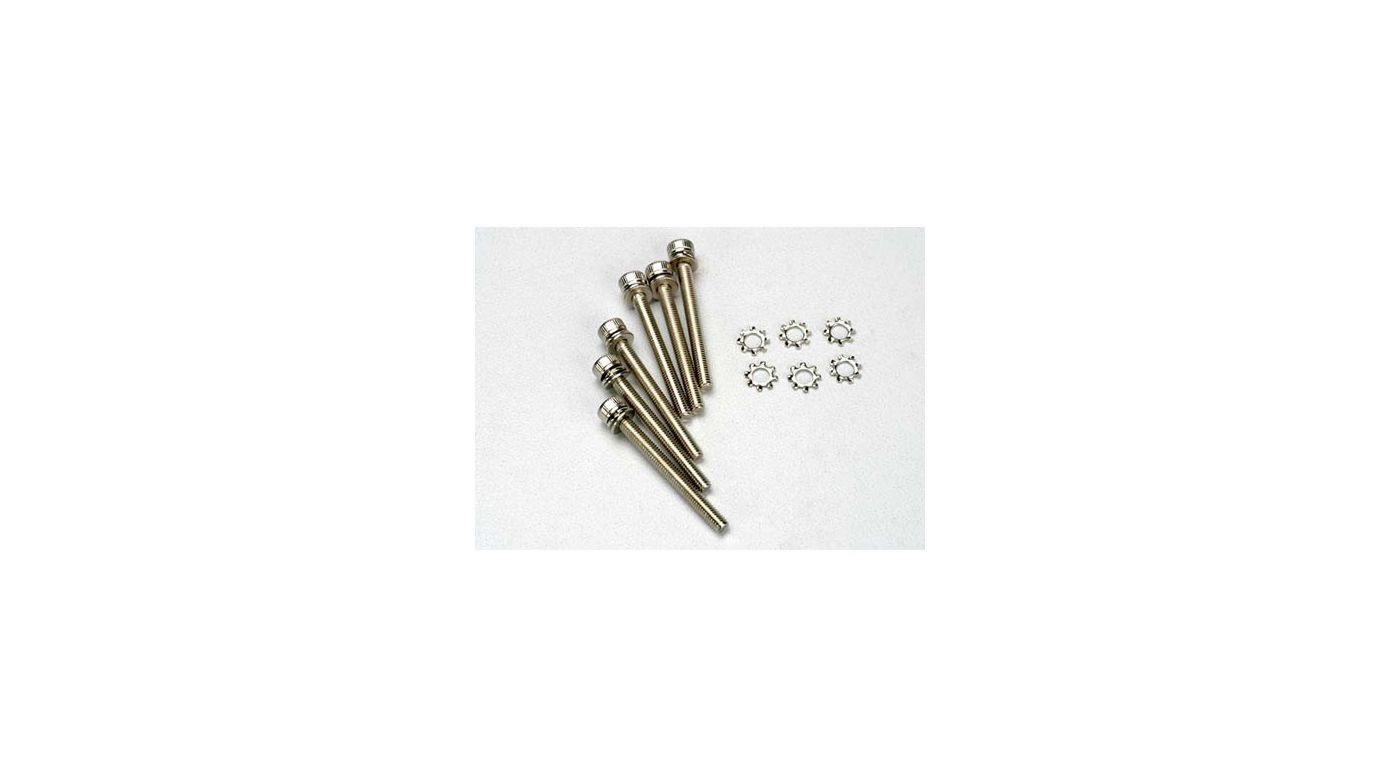Image for Screws,3x28mm Caphead (12):SLY from HorizonHobby