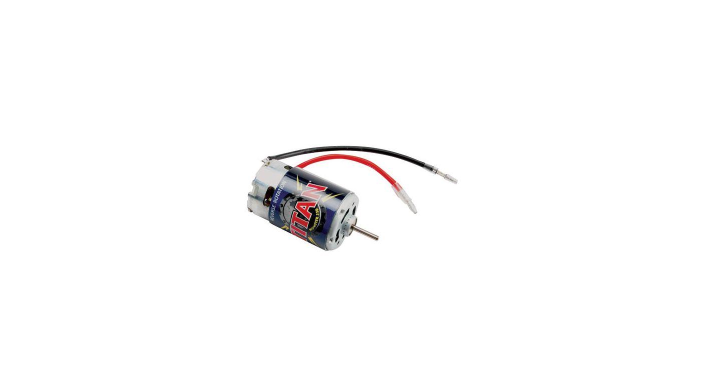 Image for Titan 550 Motor 21T, Reverse Rotation: E-Revo from HorizonHobby