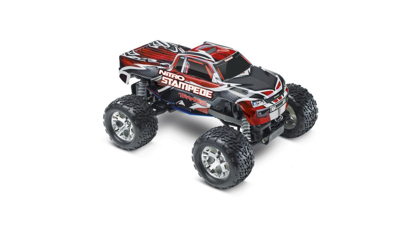 Image for 1/10 Nitro Stampede RTR with TRX Pro .15, TQ 2.4GHz, Red from HorizonHobby