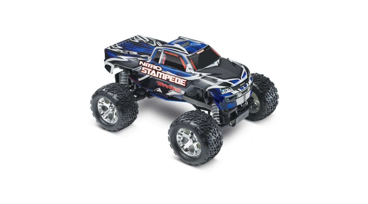 Image for 1/10 Nitro Stampede RTR with TRX Pro .15, TQ 2.4GHz, Blue from HorizonHobby