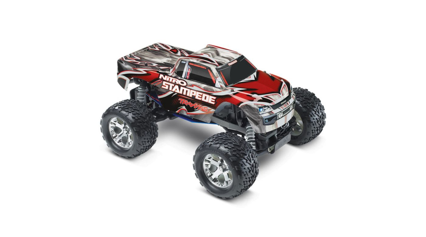 Image for Nitro Stampede RTR w/ TRX Pro .15 w  Battery  Red from HorizonHobby