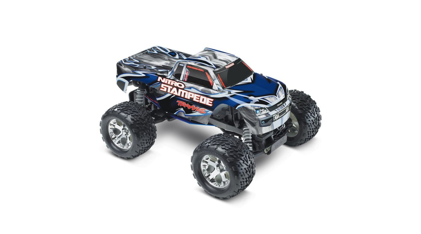 Image for Nitro Stampede RTR w/ TRX Pro .15 w  Battery  Blue from HorizonHobby
