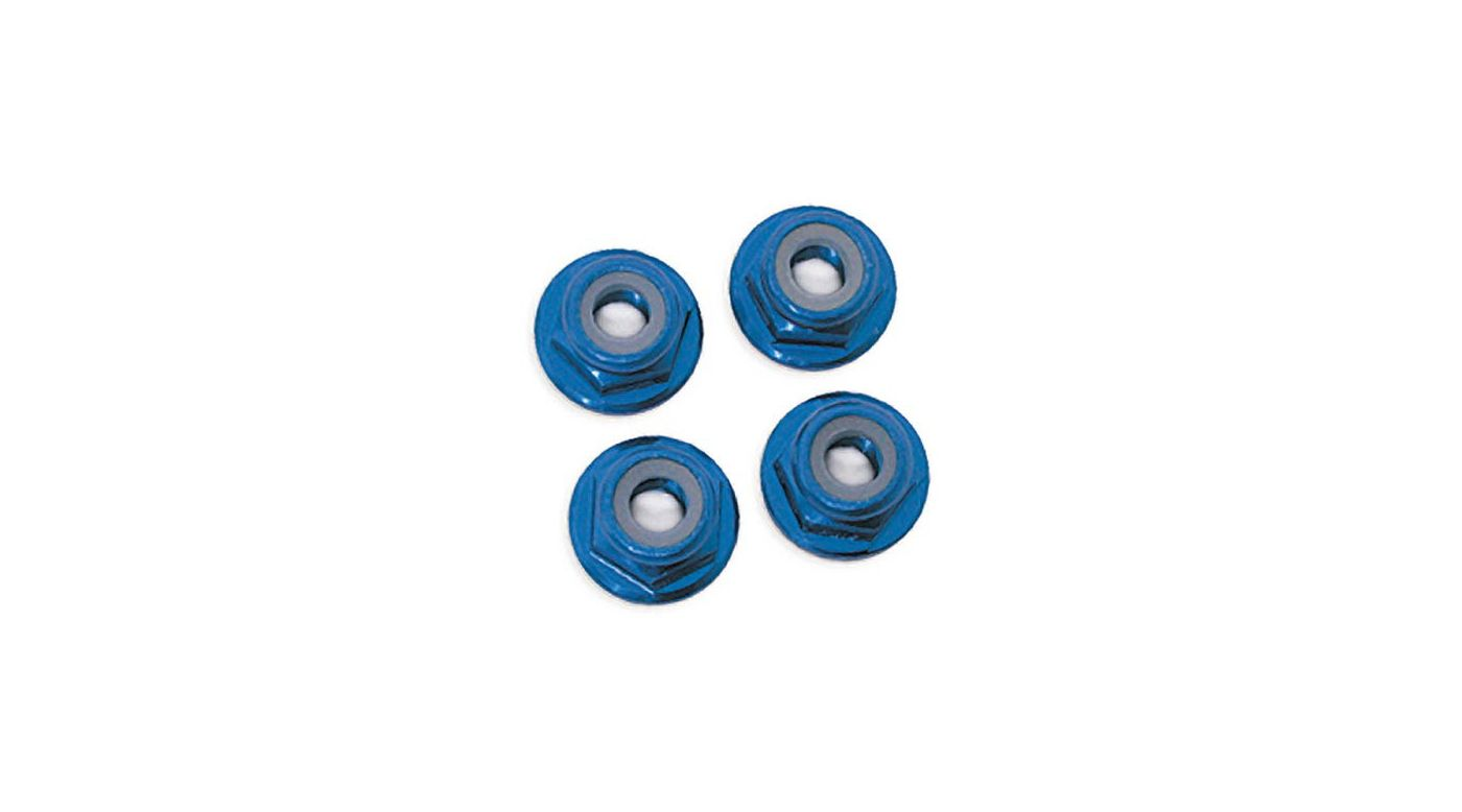 Image for Nuts 5mm Flanges:TMX.15,2.5,SLY (4) from HorizonHobby