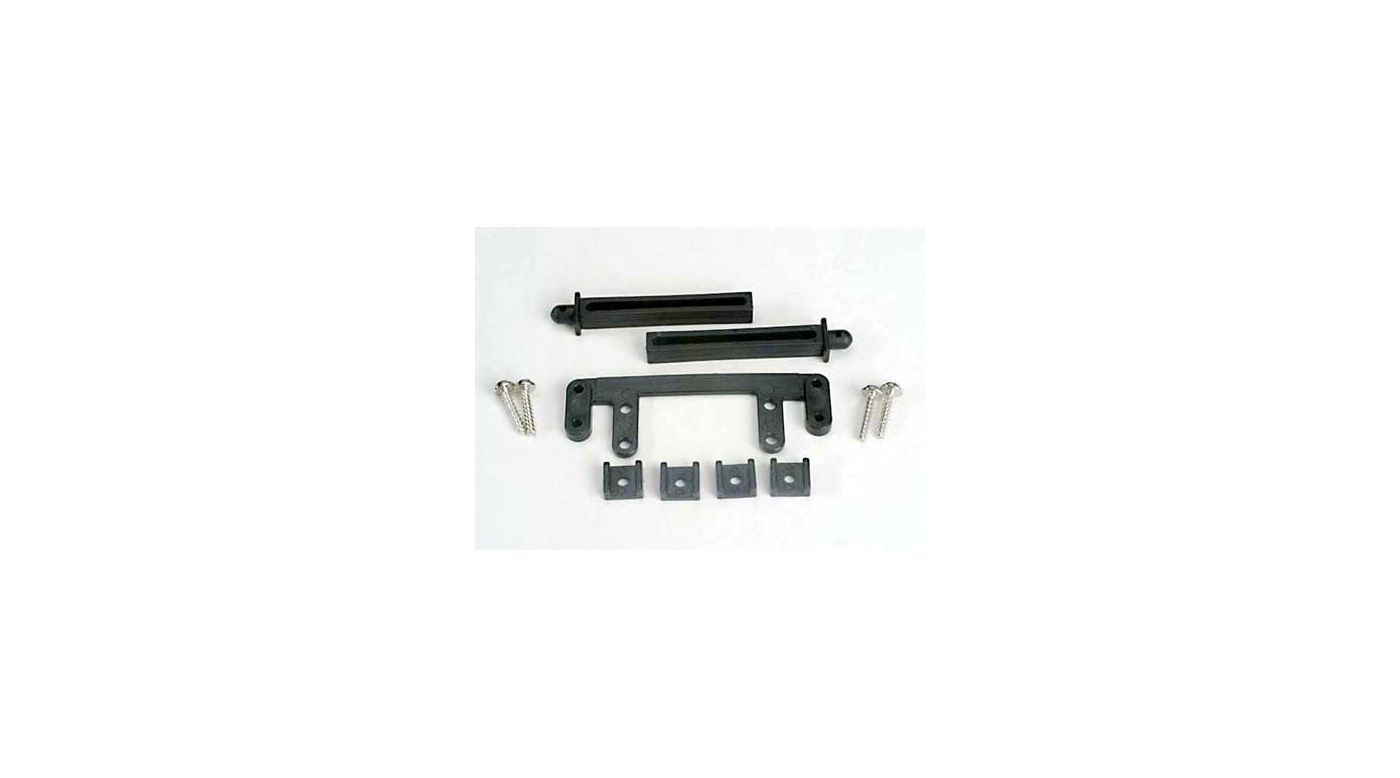 Image for R Body Mount Base Post Clamp:SS,4T from HorizonHobby