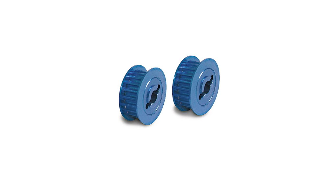 Image for Pully,15 Groove,Blue Alum:N4-TEC from HorizonHobby