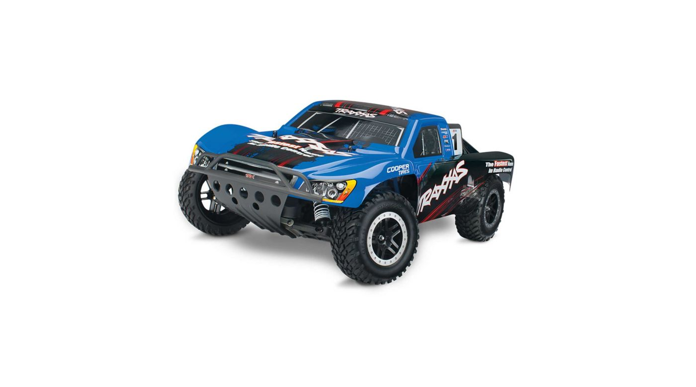 Image for 1/10 Nitro Slash 3.3 2WD SCT RTR, Blue from HorizonHobby