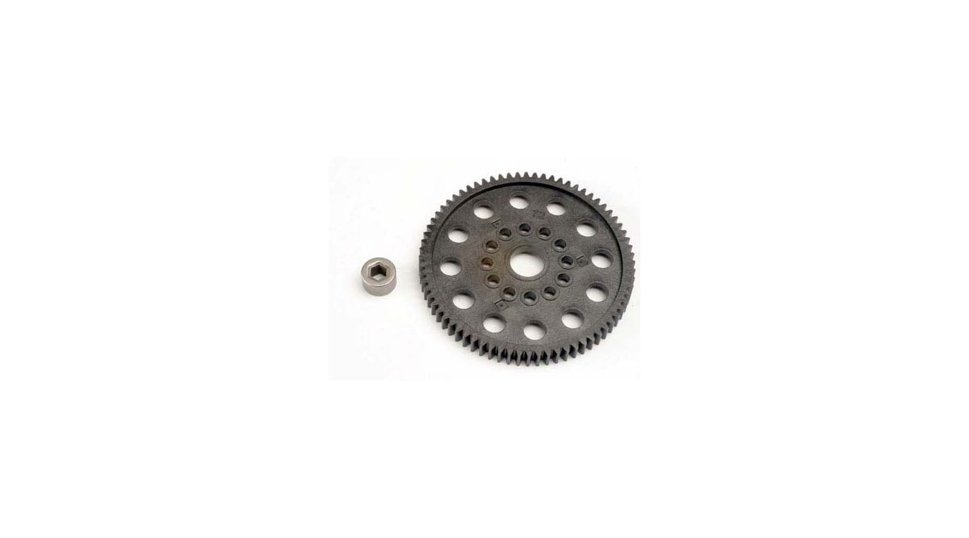 Image for 32P Spur Gear,72T:NR,NSP,TMX.15,2.5 from HorizonHobby