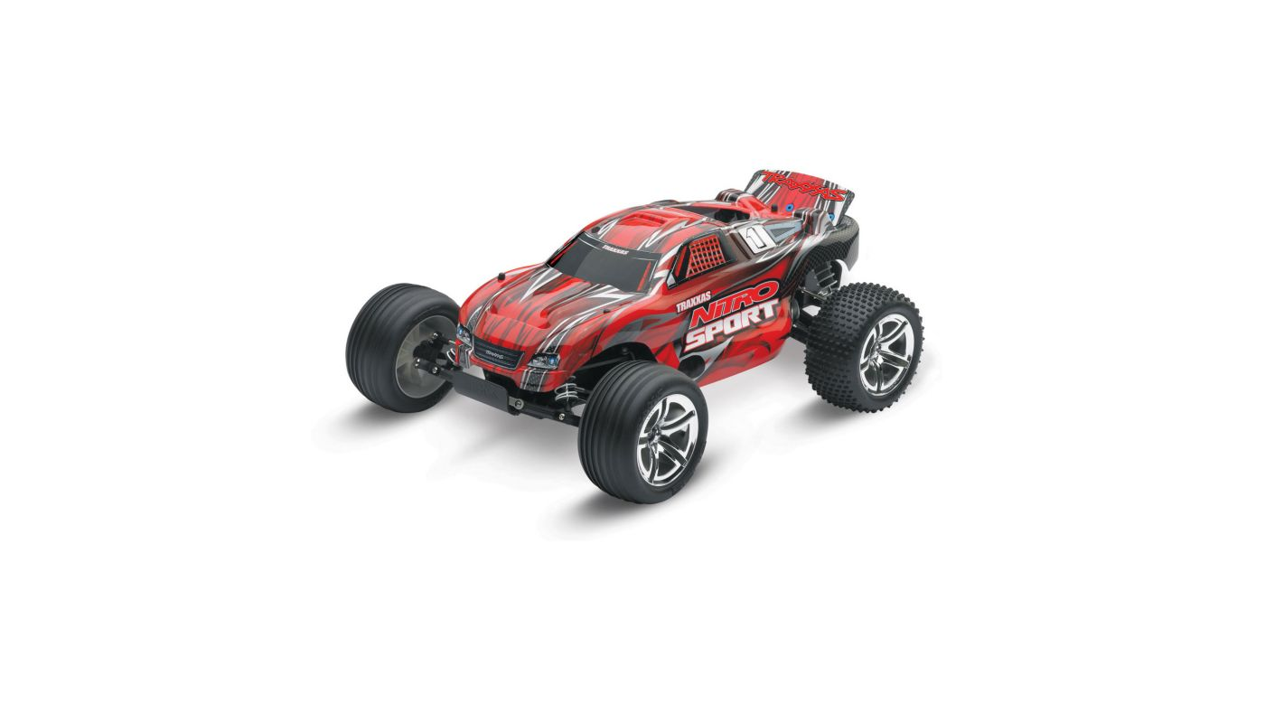 Image for 1/10 Nitro Sport .15 2WD Stadium Truck RTR, Red from HorizonHobby