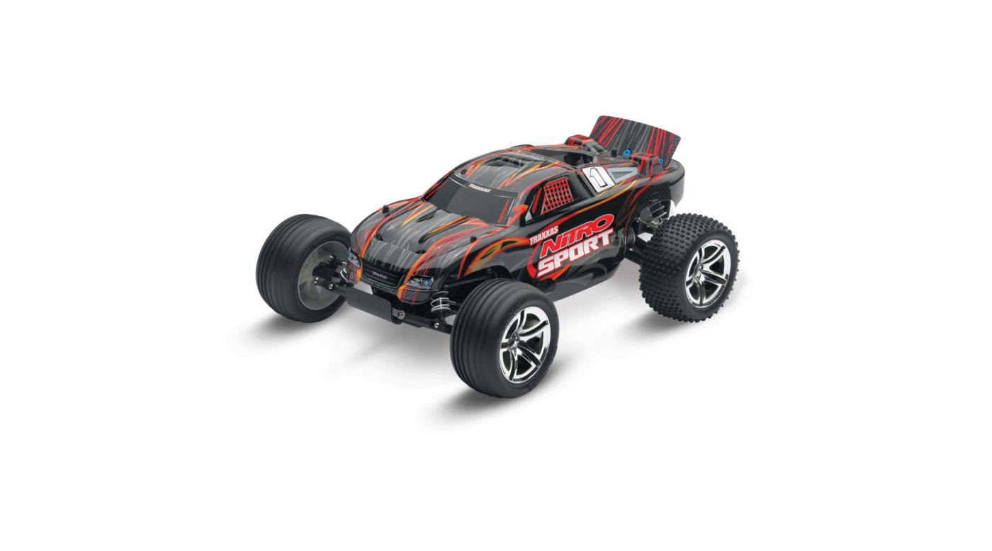 Image for 1/10 Nitro Sport .15 2WD Stadium Truck RTR, Black from HorizonHobby