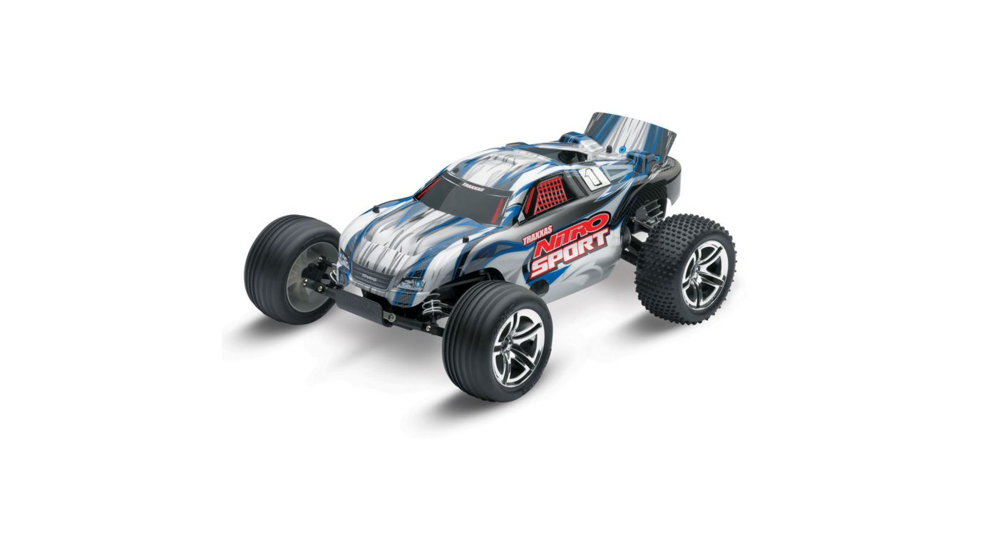 Image for 1/10 Nitro Sport .15 2WD Stadium Truck RTR, Silver from HorizonHobby