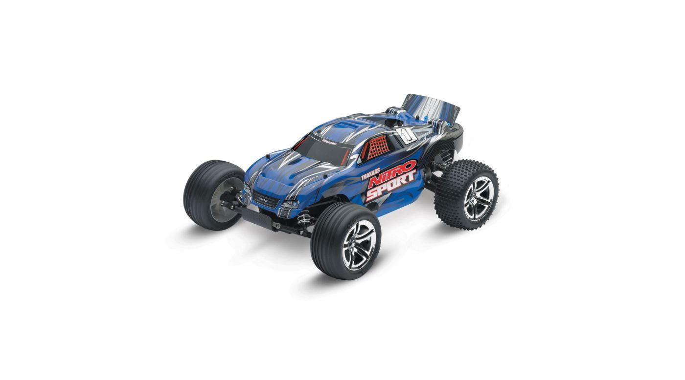 Image for 1/10 Nitro Sport .15 2WD Stadium Truck RTR, Blue from Horizon Hobby