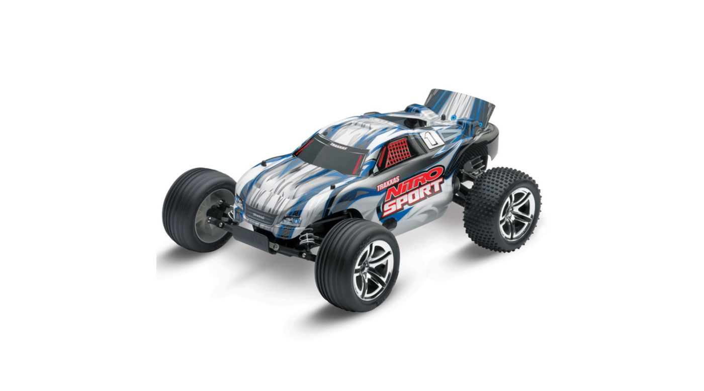 Image for Nitro Sport RTR with TQ Radio Pro .15 Eng  Silver from HorizonHobby