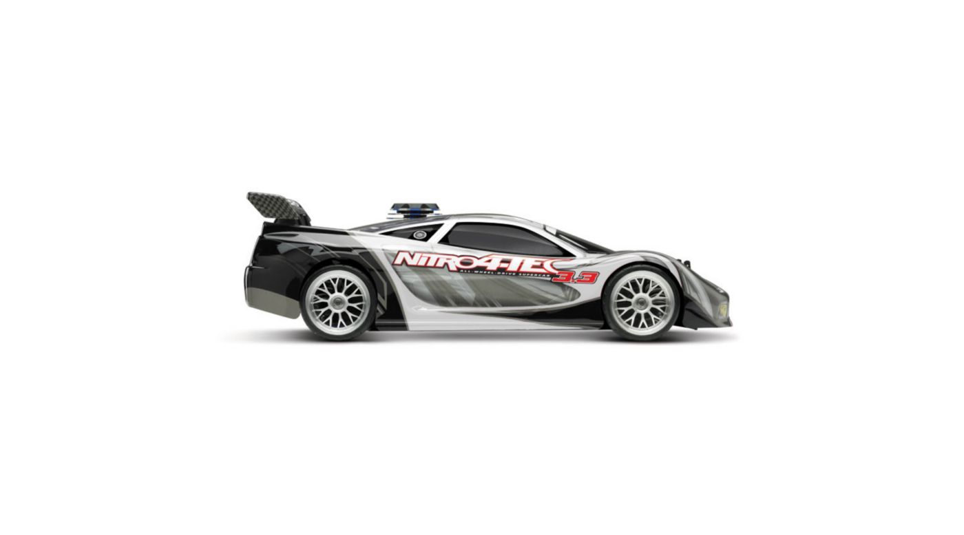 Image for 1/10 Nitro 4-Tec 3.3 RTR with TQi 2.4GHz Radio & Module, White from HorizonHobby
