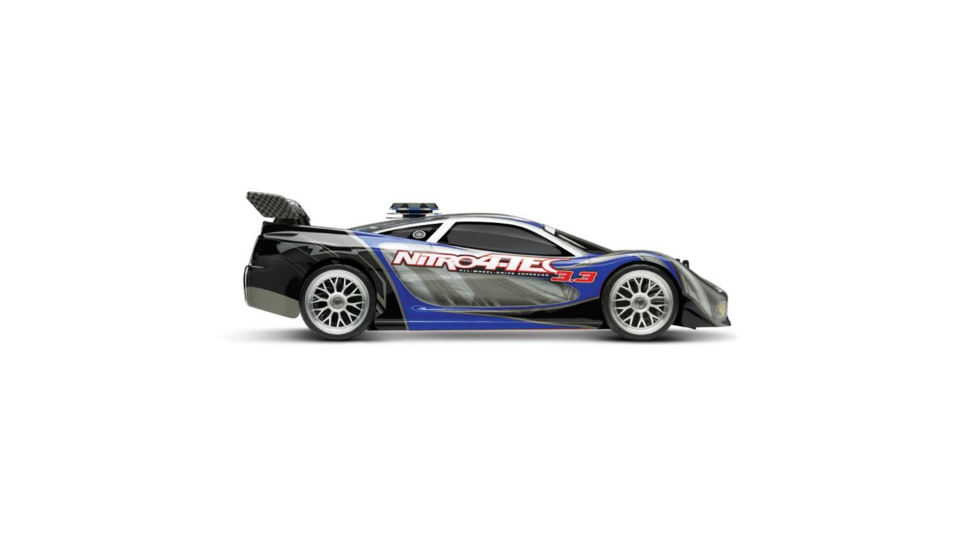 Image for 1/10 Nitro 4-Tec 3.3 RTR with TQi 2.4GHz & Module, Blue from HorizonHobby