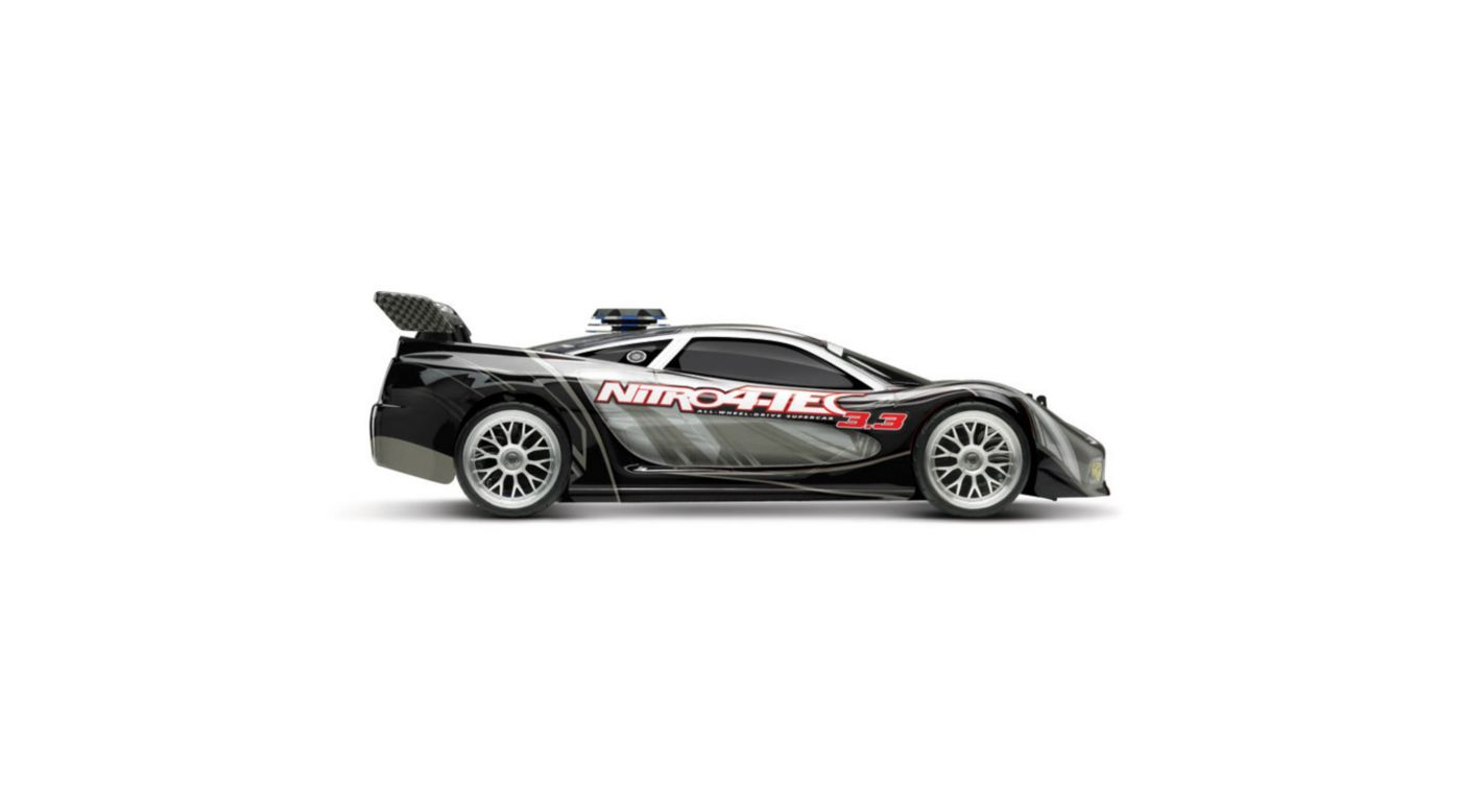 Image for 1/10 Nitro 4-Tec 3.3 RTR with TQi 2.4GHz & Module, Black from HorizonHobby
