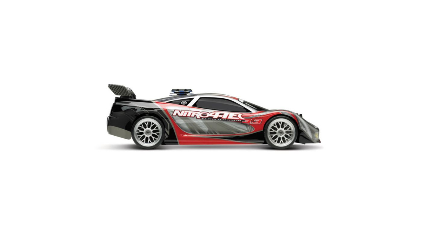 Image for 1/10 Nitro 4-Tec 3.3 RTR with TQi 2.4GHz & Module, Red from HorizonHobby