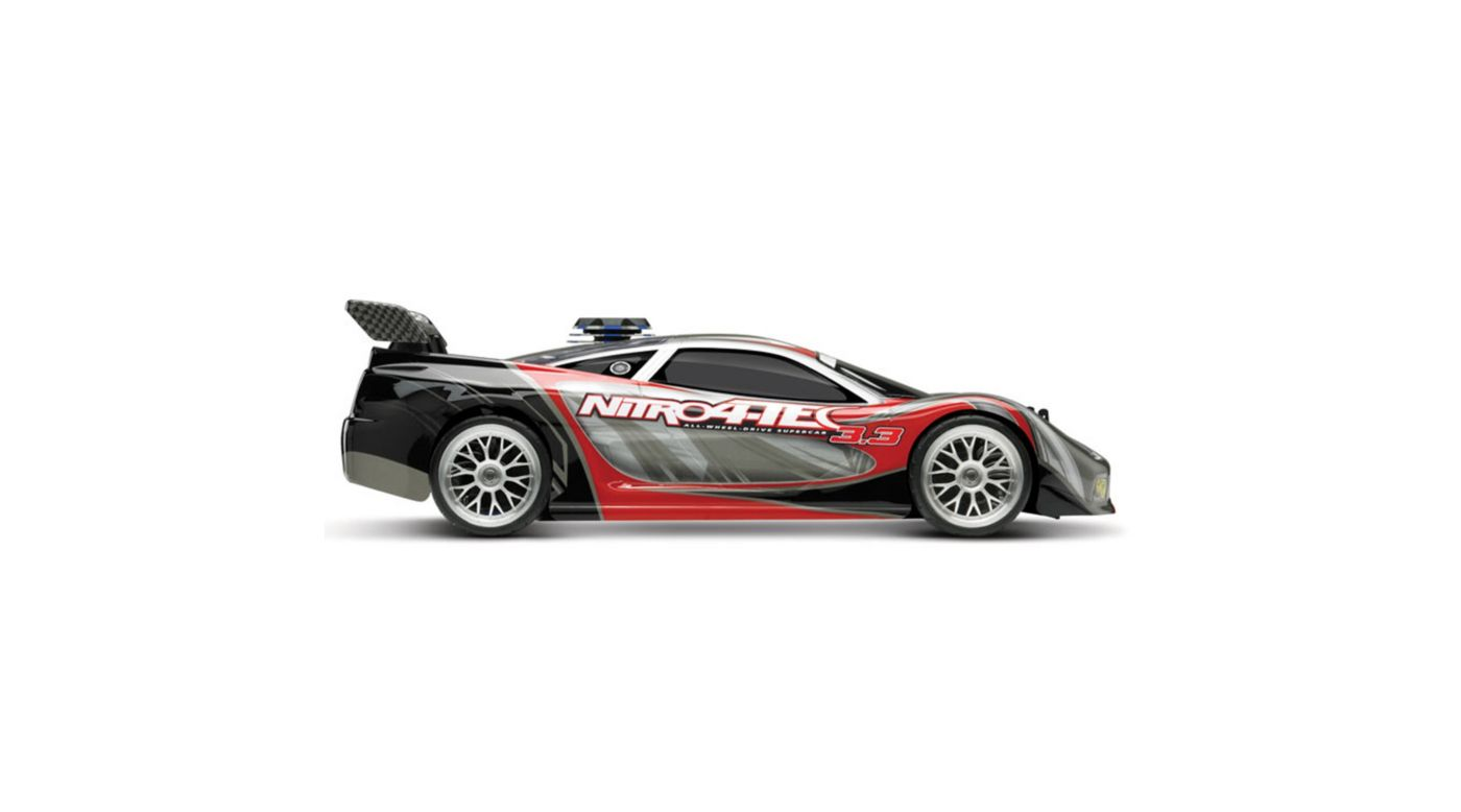 Image for 1/10 Nitro 4-Tec 3.3 RTR with 2.4GHz Radio: Red from HorizonHobby