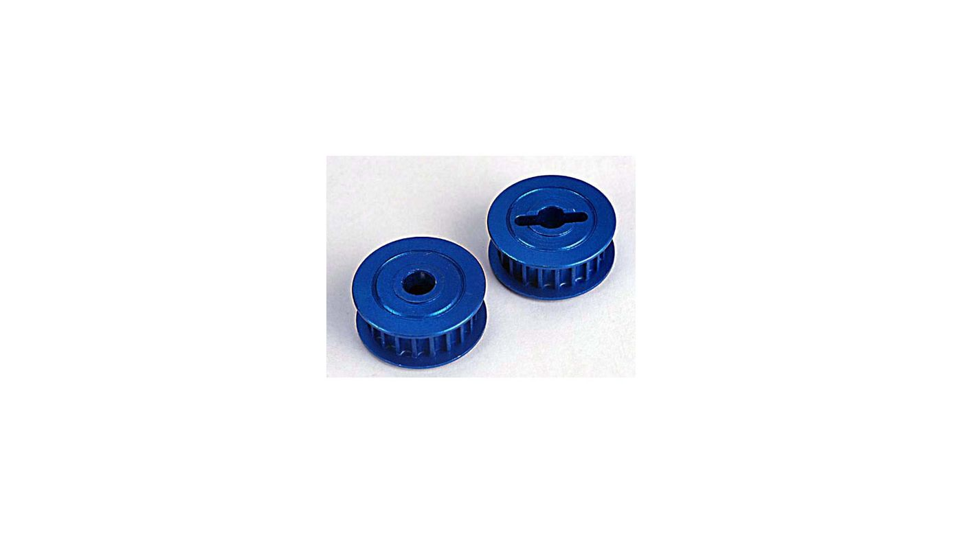 Image for Pully,20 Groove,Blue Alum:N4-TEC from HorizonHobby