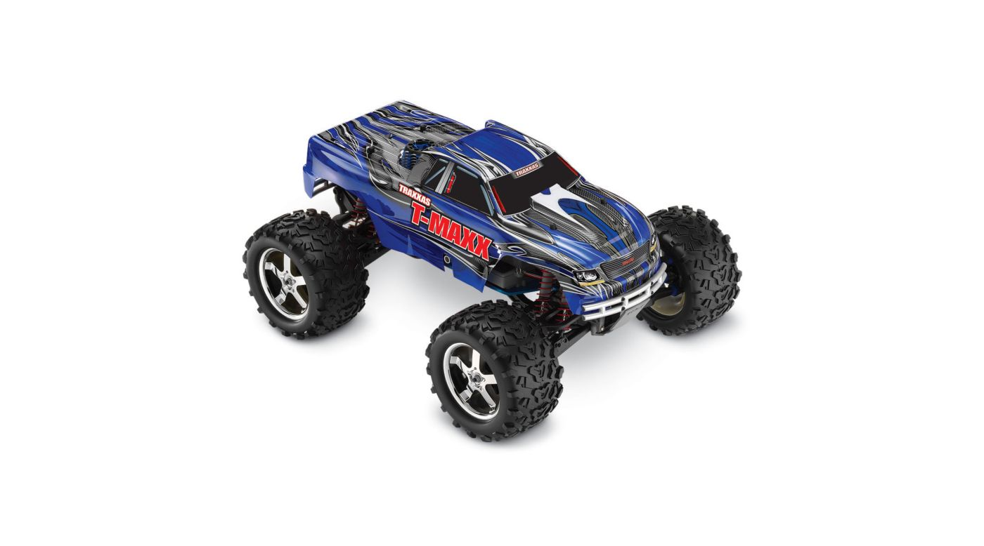 Image for 1/10 T-Maxx 3.3 4WD Monster Truck RTR with TQi 2.4GHz & Module, Blue from HorizonHobby
