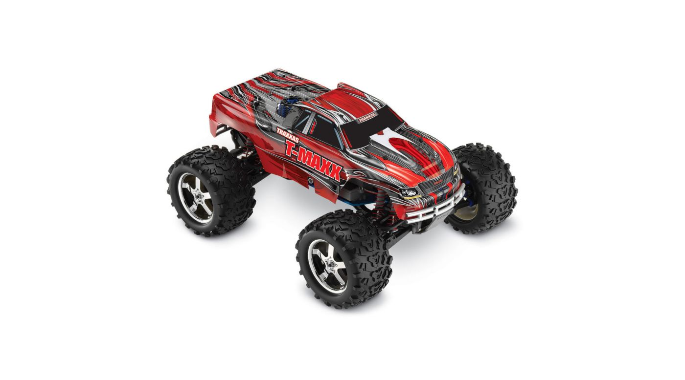 Image for 1/10 T-Maxx 3.3 4WD Monster Truck RTR with TQi 2.4GHz & Module, Red from HorizonHobby