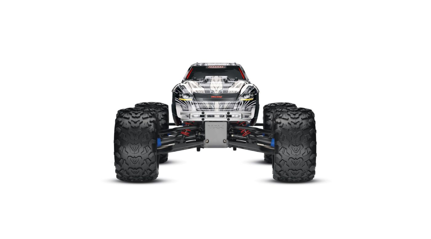 Image for 1/10 T-Maxx 3.3 4WD Monster Truck RTR with TQi 2.4GHz & Module, White from HorizonHobby