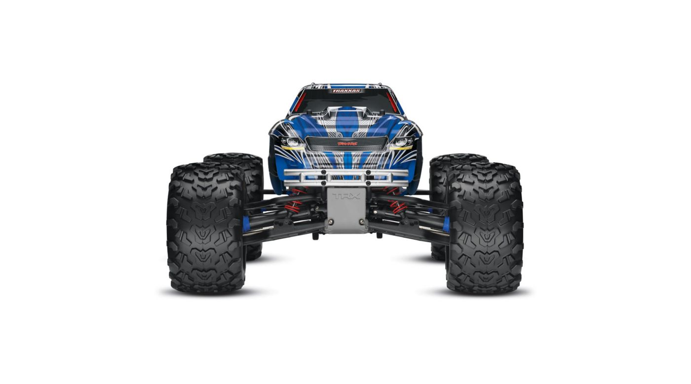 Image for 1/10 T-Maxx 3.3 4WD Nitro Monster Truck RTR with TSM, Blue from HorizonHobby