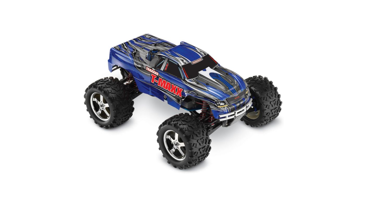 Image for 1/10 T-Maxx 3.3 4WD RTR with TQi 2.4GHz 3CH Radio, Blue from HorizonHobby