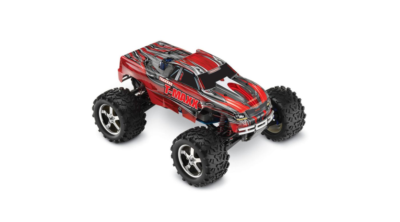 Image for 1/10 T-Maxx 3.3 4WD RTR with TQi 2.4GHz 3CH Radio, Red from HorizonHobby