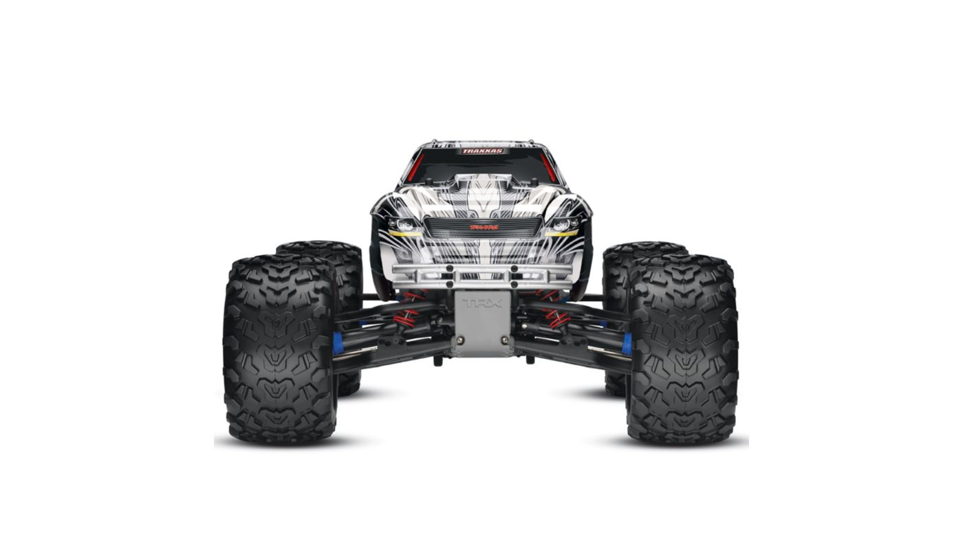Image for 1/10 T-Maxx 3.3 4WD RTR with TQi 2.4GHz 3CH Radio, White from HorizonHobby