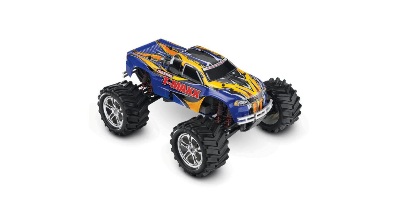 Image for 1/10 T-Maxx 2.5 4WD Nitro Monster Truck RTR, Blue from HorizonHobby