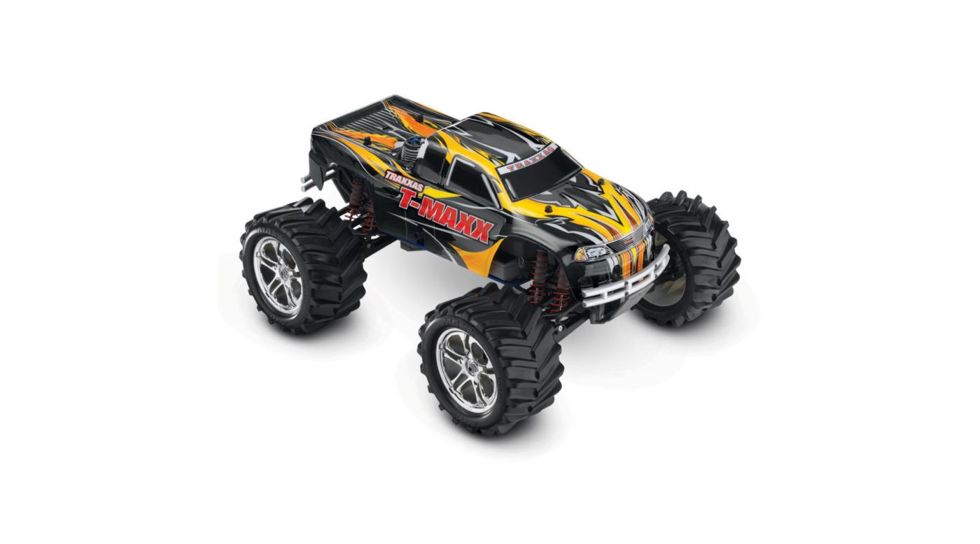 Image for 1/10 T-Maxx 2.5 4WD Nitro Monster Truck RTR, Black from HorizonHobby