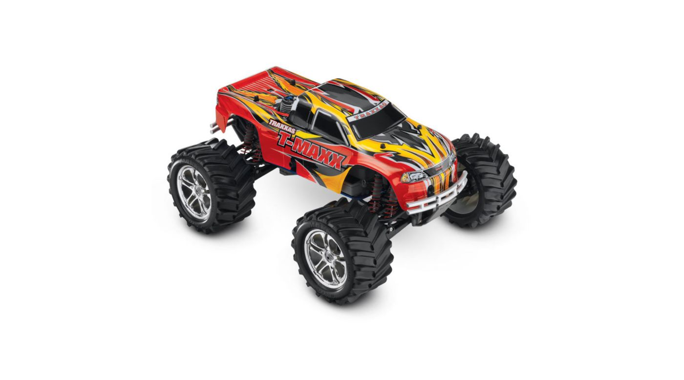 Image for 1/10 T-Maxx 2.5 4WD Nitro Monster Truck RTR, Red from Horizon Hobby