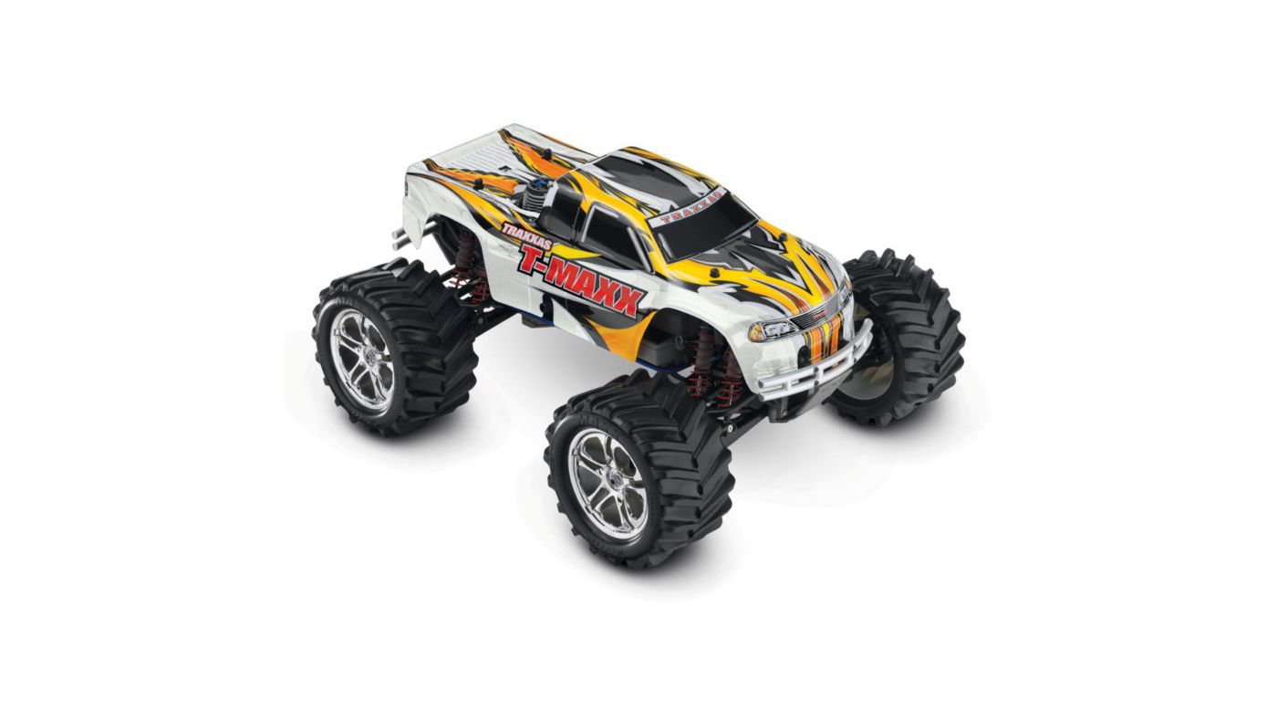 Image for 1/10 T-Maxx 2.5 4WD Nitro Monster Truck RTR, White from HorizonHobby