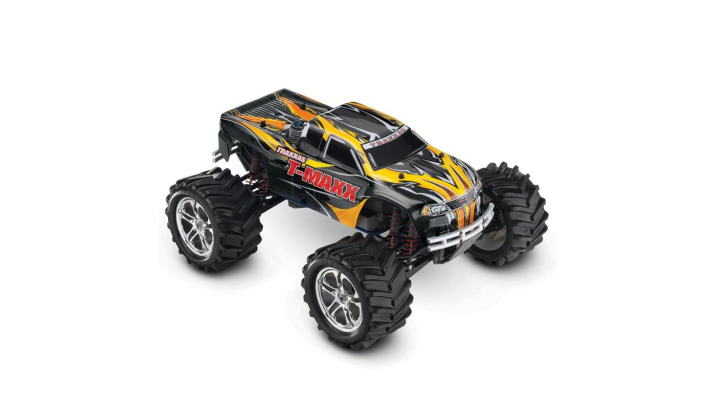 Image for T-Maxx 4WD Nitro Monster Truck RTR w/ Batt  Black from HorizonHobby