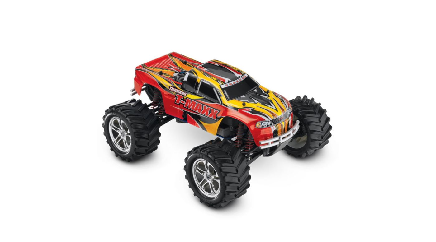 Image for T-Maxx 4WD Nitro Monster Truck RTR w/ Battery  Red from HorizonHobby