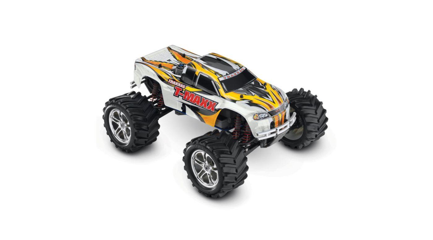 Image for T-Maxx 4WD Nitro Monster Truck RTR w/ Batt  White from HorizonHobby