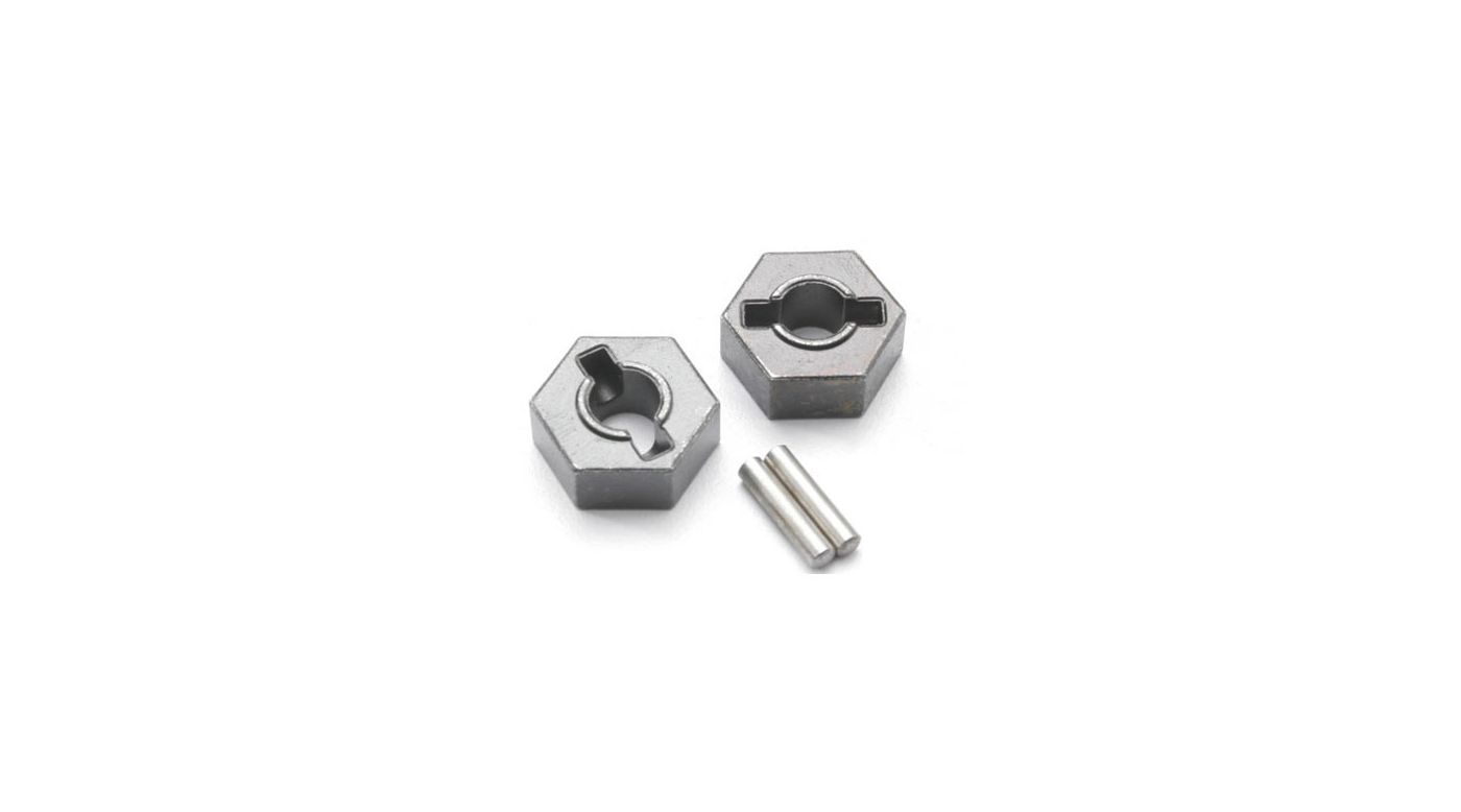 Image for Steel Wheel Hubs: EMX, SLY from HorizonHobby