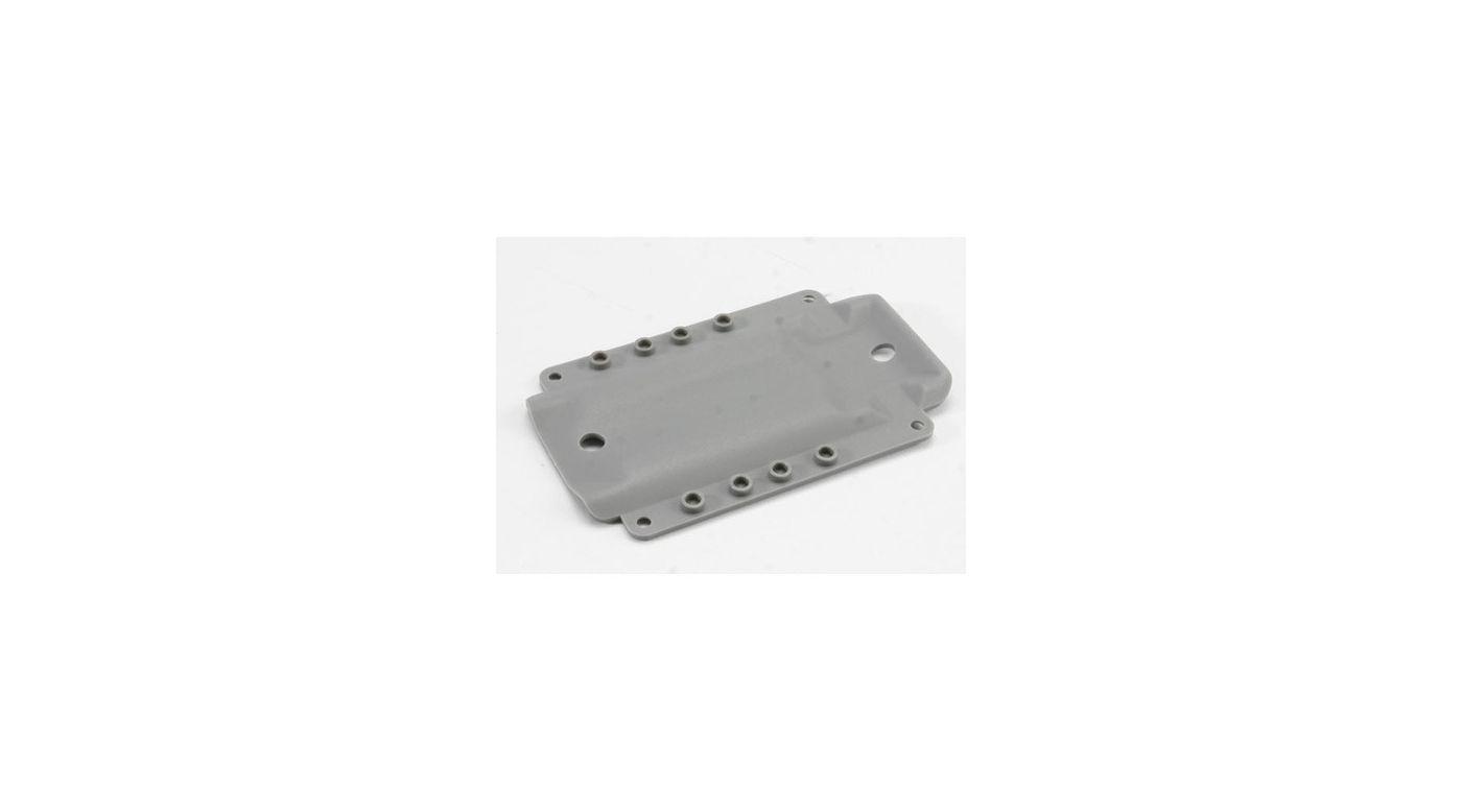 Image for Skidplate, Grey:4908 T-Maxx 3.3 from HorizonHobby