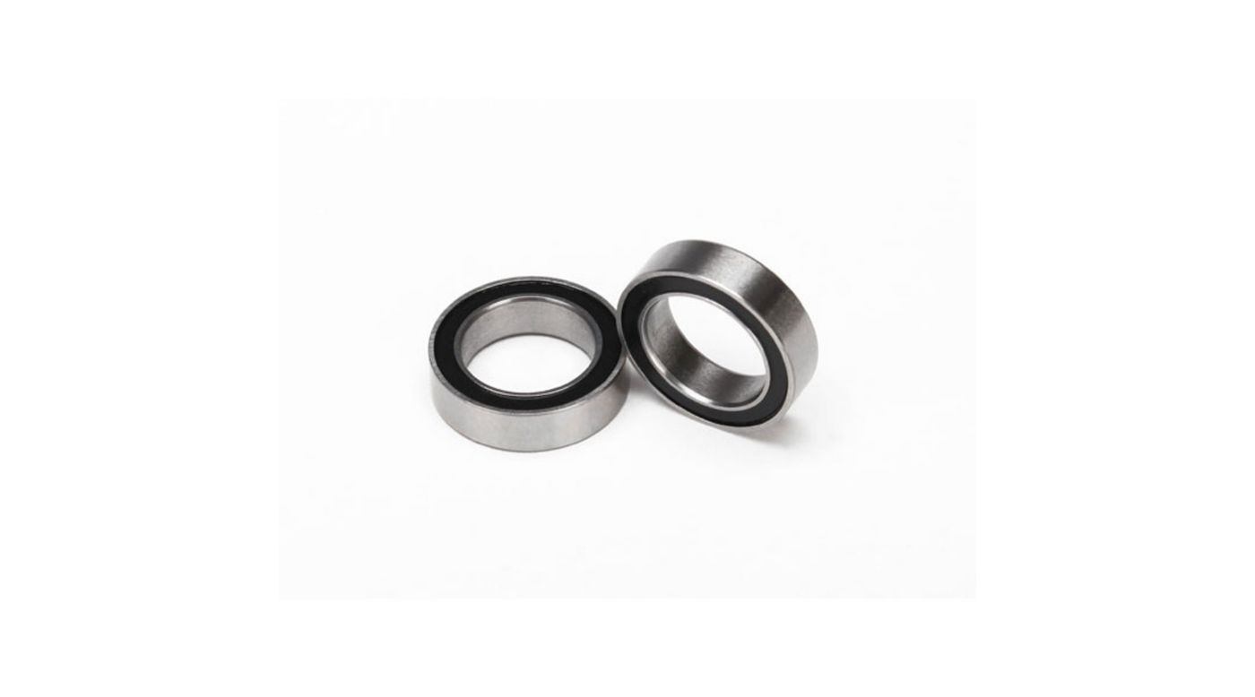 Image for Ball Bearings, Black Rubber Sealed, 10 x 15 x 4mm (2) from HorizonHobby