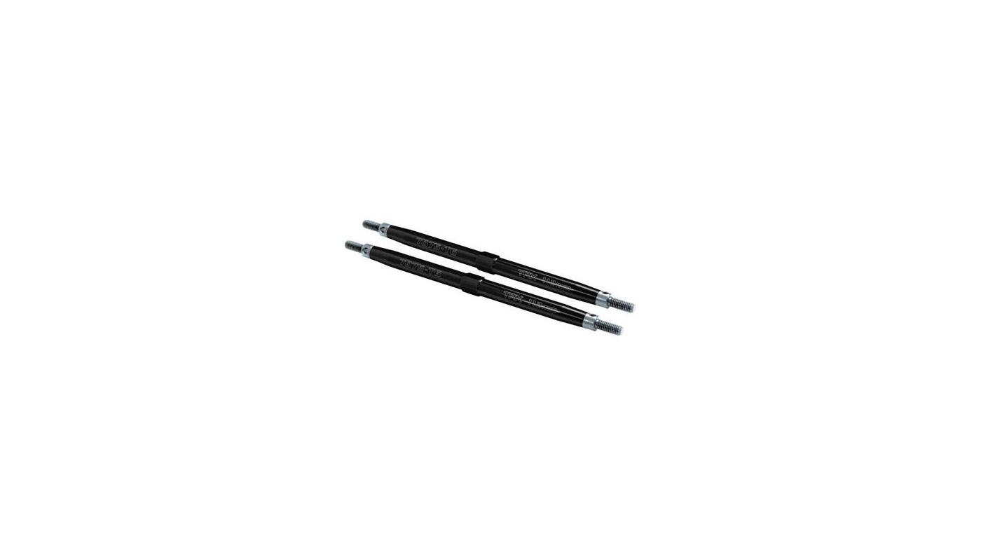 Image for Front Aluminum Toe Links, Black (2): TMX, EMX from HorizonHobby